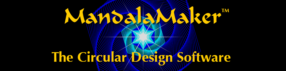 MandalaMaker(TM): The Circular Design Software